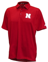 Adidas 2019 Coach Frost Sideline Game Mode Polo - Red Nebraska Cornhuskers, Nebraska  Mens Polo's, Huskers  Mens Polo's, Nebraska Polo's, Huskers Polo's, Nebraska Adidas, Huskers Adidas, Nebraska Adidas Official 2019 Husker Coaches Sideline Game Mode Polo - Red, Huskers Adidas Official 2019 Husker Coaches Sideline Game Mode Polo - Red