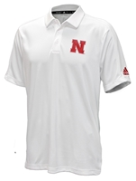 Adidas Must Win Game Mode Polo - White Nebraska Cornhuskers, Nebraska  Mens Polos, Huskers  Mens Polos, Nebraska Polos, Huskers Polos, Nebraska Adidas, Huskers Adidas, Nebraska Adidas Official 2019 Husker Coaches Sideline Game Mode Polo - White, Huskers Adidas Official 2019 Husker Coaches Sideline Game Mode Polo - White