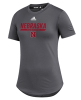 Adidas Womens Nebraska Huskers  UTL 2020 Training Tee - Grey Nebraska Cornhuskers, Nebraska  Short Sleeve, Huskers  Short Sleeve, Nebraska  Ladies, Huskers  Ladies, Nebraska  Ladies T-Shirts, Huskers  Ladies T-Shirts, Nebraska Adidas, Huskers Adidas, Nebraska Adidas Womens Nebraska Huskers  UTL 2020 Training Tee - Grey, Huskers Adidas Womens Nebraska Huskers  UTL 2020 Training Tee - Grey