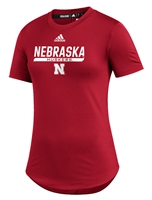 Adidas Womens Nebraska Huskers  UTL 2020 Training Tee - Red Nebraska Cornhuskers, Nebraska  Short Sleeve, Huskers  Short Sleeve, Nebraska  Ladies, Huskers  Ladies, Nebraska  Ladies T-Shirts, Huskers  Ladies T-Shirts, Nebraska Adidas, Huskers Adidas, Nebraska Adidas Womens Nebraska Huskers  UTL 2020 Training Tee - Red, Huskers Adidas Womens Nebraska Huskers  UTL 2020 Training Tee - Red