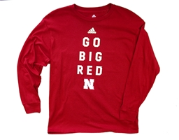 Adidas Youth Go Big Red Locker Tee Nebraska Cornhuskers, Nebraska  Youth, Huskers  Youth, Nebraska Adidas, Huskers Adidas, Nebraska  Kids, Huskers  Kids, Nebraska  Long Sleeve, Huskers  Long Sleeve, Nebraska Adidas Youth Go Big Red Locker Tee, Huskers Adidas Youth Go Big Red Locker Tee
