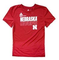 Adidas Youth Nebrasketball On Court Tee Nebraska Cornhuskers, Nebraska  Kids, Huskers  Kids, Nebraska  Short Sleeve, Huskers  Short Sleeve, Nebraska  Youth, Huskers  Youth, Nebraska  Basketball, Huskers  Basketball, Nebraska Adidas, Huskers Adidas, Nebraska Adidas Youth Nebrasketball On Court Tee, Huskers Adidas Youth Nebrasketball On Court Tee