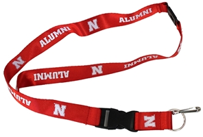 Nebraska Alumni Breakaway Lanyard Nebraska Cornhuskers, Nebraska  Ladies, Huskers  Ladies, Nebraska  Mens, Huskers  Mens, Nebraska  Mens Accessories, Huskers  Mens Accessories, Nebraska  Ladies Accessories, Huskers  Ladies Accessories, Nebraska Alum Red Breakaway Lanyard Aminco, Huskers Alum Red Breakaway Lanyard Aminco