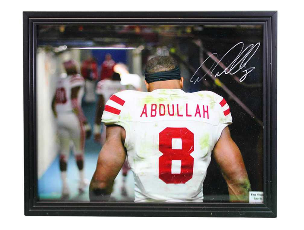 low cost f582f 6cdd6 Ameer Abdullah Autographed Husker Print