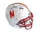NU All-Time Scoring and Yardage Leaders Autographed Mini - OK-C1030