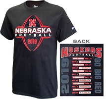 Nebraska Football Tour 19 Tee Nebraska Cornhuskers, Nebraska  Short Sleeve, Huskers  Short Sleeve, Nebraska  Mens, Huskers  Mens, Nebraska  Mens T-Shirts, Huskers  Mens T-Shirts, Nebraska Big Red Tour 19 Tee, Huskers Big Red Tour 19 Tee