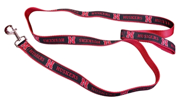 Huskers Dog Leash Nebraska Cornhuskers, husker football, nebraska merchandise, husker merchandise, nebraska cornhusker merchandise, nebraska cornhuskers pet items, husker pet items, husker dog leash, nebraska dog leash, nebraska cornhuskers dog leash, Dog Leash