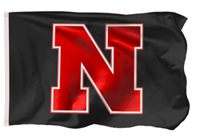 Black N Red Nebraska Flag Nebraska Cornhuskers, Nebraska  Flags & Windsocks, Huskers  Flags & Windsocks, Nebraska Black 3x5 Red N Logo Flag Sewing Concepts, Huskers Black 3x5 Red N Logo Flag Sewing Concepts