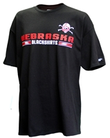 Blackshirts Blitz Tee Nebraska Cornhuskers, Nebraska  Mens T-Shirts, Huskers  Mens T-Shirts, Nebraska  Mens, Huskers  Mens, Nebraska  Short Sleeve, Huskers  Short Sleeve, Nebraska Blackshirts, Huskers Blackshirts, Nebraska Blackshirts School Night Tee, Huskers Blackshirts School Night Tee