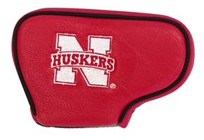 Nebraska Blade Putter Cover Nebraska Cornhuskers, husker football, nebraska cornhuskers merchandise, husker merchandise, nebraska merchandise, nebraska cornhuskers golf accessories, husker golf accessories, nebraska golf accessories, nebraska golf merchandise, husker golf merchandise, nebraska cornhuskers golf merchandise, Blade Putter Cover