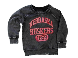 Childrens Nebraska Huskers Edge Fade Sweat Nebraska Cornhuskers, Nebraska  Childrens, Huskers  Childrens, Nebraska  Kids, Huskers  Kids, Nebraska Childrens Nebraska Huskers Raw Edge Faded LS Fleece, Huskers Childrens Nebraska Huskers Raw Edge Faded LS Fleece