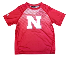 Childrens Adidas Nebraska Vortex Tee Nebraska Cornhuskers, Nebraska  Childrens, Huskers  Childrens, Nebraska  Kids , Huskers  Kids , Nebraska Childrens Nebraska Vortex Tee, Huskers Childrens Nebraska Vortex Tee