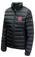 Columbia Ladies Husker Puffer Jacket Nebraska Cornhuskers, Nebraska  Ladies Outerwear, Huskers  Ladies Outerwear, Nebraska  Ladies, Huskers  Ladies, Nebraska Black W Puffer Lake 22 Jacket Columbia, Huskers Black W Puffer Lake 22 Jacket Columbia