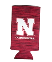 Cornhuskers Team Static Slim Can Coolie Nebraska Cornhuskers, Nebraska  Tailgating, Huskers  Tailgating, Nebraska Cornhuskers Team Static Slim Can Coolie, Huskers Cornhuskers Team Static Slim Can Coolie