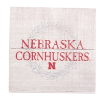 Cornhuskers Wood Magnet Nebraska Cornhuskers, Nebraska Stickers Decals & Magnets, Huskers Stickers Decals & Magnets, Nebraska Red Nebraska State Wood Plank Magnet Legacy, Huskers Red Nebraska State Wood Plank Magnet Legacy