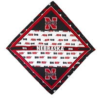 Go Big Red Bandana Nebraska Cornhuskers, Nebraska  Jewelry & Hair, Huskers  Jewelry & Hair, Nebraska  Ladies, Huskers  Ladies, Nebraska  Ladies Accessories, Huskers  Ladies Accessories, Nebraska Go Big Red Bandana, Huskers Go Big Red Bandana