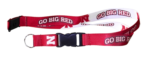 Go Big Red Breakaway Lanyard Nebraska Cornhuskers, Nebraska  Jewelry & Hair, Huskers  Jewelry & Hair, Nebraska  Ladies Accessories, Huskers  Ladies Accessories, Nebraska  Mens Accessories, Huskers  Mens Accessories, Nebraska Go Big Red Breakaway Lanyard, Huskers Go Big Red Breakaway Lanyard