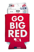 Go Big Red Can Cooler Nebraska Cornhuskers, Nebraska  Tailgating, Huskers  Tailgating, Nebraska Go Big Red Can Cooler, Huskers Go Big Red Can Cooler