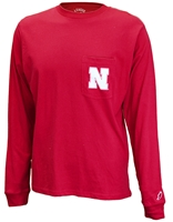 Go Big Red LS Pocket Tee Nebraska Cornhuskers, Nebraska  Long Sleeve, Huskers  Long Sleeve, Nebraska  Mens, Huskers  Mens, Nebraska T-Shirts, Huskers T-Shirts, Nebraska Go Big Red LS Pocket Tee, Huskers Go Big Red LS Pocket Tee
