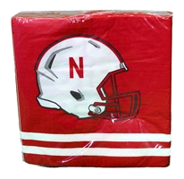Go Big Red Lunch Napkin 50 count Nebraska Cornhuskers, Husker Luncheon Napkins