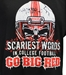 Go Big Red Scary Tee - AT-D8321