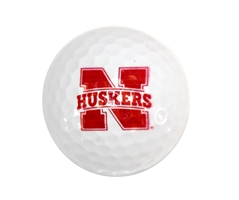 N Husker Golf Ball Nebraska Cornhuskers, husker football, nebraska cornhuskers merchandise, husker merchandise, nebraska merchandise, nebraska cornhuskers golf accessories, husker golf accessories, nebraska golf accessories, nebraska golf merchandise, husker golf merchandise, nebraska cornhuskers golf merchandise, Golf Balls