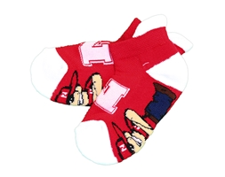 Herbie Husker Footie Socks Nebraska Cornhuskers, Nebraska  Childrens, Huskers  Childrens, Nebraska  Kids, Huskers  Kids, Nebraska Herbie Husker Footie Socks, Huskers Herbie Husker Footie Socks