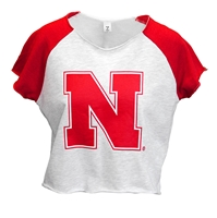 Husker Gals Raglan Crop Tee Nebraska Cornhuskers, Nebraska  Ladies T-Shirts, Huskers  Ladies T-Shirts, Nebraska  Ladies, Huskers  Ladies, Nebraska  Ladies Tops, Huskers  Ladies Tops, Nebraska Husker Gals Raglan Crop Tee, Huskers Husker Gals Raglan Crop Tee