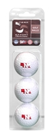 Husker Golf Balls 3 Pack Nebraska Cornhuskers, husker football, nebraska cornhuskers merchandise, husker merchandise, nebraska merchandise, nebraska cornhuskers golf accessories, husker golf accessories, nebraska golf accessories, nebraska golf merchandise, husker golf merchandise, nebraska cornhuskers golf merchandise, 3 Pack of Husker Golf Balls