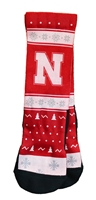 Husker Holiday Rockem Socks Nebraska Cornhuskers, Nebraska  Underwear & PJs, Huskers  Underwear & PJs, Nebraska  Footwear, Huskers  Footwear, Nebraska  Mens, Huskers  Mens, Nebraska  Ladies, Huskers  Ladies, Nebraska Husker Holiday Rockem Socks, Huskers Husker Holiday Rockem Socks