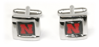 Husker N Cufflinks Nebraska Cornhuskers, husker football, nebraska cornhuskers merchandise, nebraska merchandise, husker merchandise, nebraska cornhuskers apparel, husker apparel, nebraska apparel, husker mens apparel, nebraska cornhuskers mens apparel, nebraska mens apparel, husker mens merchandise, nebraska cornhuskers mens merchandise, mens nebraska accessories, mens husker accessories, mens nebraska cornhusker accessories,Cufflinks