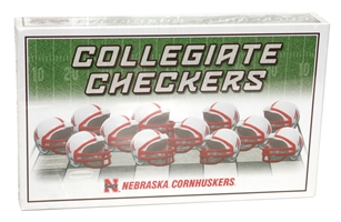 Huskers Checker Set Nebraska Cornhuskers, Nebraska  Toys & Games, Huskers  Toys & Games, Nebraska  Game Room & Big Red Room, Huskers  Game Room & Big Red Room, Nebraska Huskers Checker Set, Huskers Huskers Checker Set