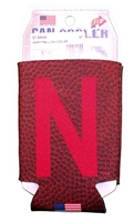 Huskers Football Can Cooler Nebraska Cornhuskers, Nebraska  Tailgating, Huskers  Tailgating, Nebraska Huskers Football Can Cooler, Huskers Huskers Football Can Cooler