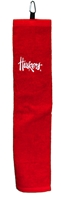 Huskers Golf Towel With Carabiner Nebraska Cornhuskers, Nebraska Golf Items, Huskers Golf Items, Nebraska Huskers Golf Towel With Carabiner, Huskers Huskers Golf Towel With Carabiner