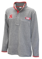 Huskers Harborside Fleece Nebraska Cornhuskers, Nebraska  Zippered, Huskers  Zippered, Nebraska  Mens, Huskers  Mens, Nebraska  Mens Outerwear , Huskers  Mens Outerwear , Nebraska Mens Fleece, Huskers Mens Fleece
