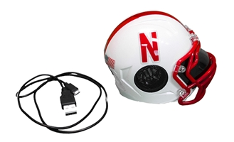 Huskers Mini Helmet Bluetooth Speaker Nebraska Cornhuskers, Nebraska  Tailgating, Huskers  Tailgating, Nebraska  Novelty, Huskers  Novelty, Nebraska Huskers Mini Helmet Bluetooth Speaker, Huskers Huskers Mini Helmet Bluetooth Speaker