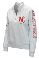 Huskers Womens Sanded Quarter Zip - Oatmeal Nebraska Cornhuskers, Nebraska  Ladies Sweatshirts, Huskers  Ladies Sweatshirts, Nebraska  Ladies, Huskers  Ladies, Nebraska  Zippered, Huskers  Zippered, Nebraska Huskers Womens Sanded Quarter Zip - Oatmeal, Huskers Huskers Womens Sanded Quarter Zip - Oatmeal