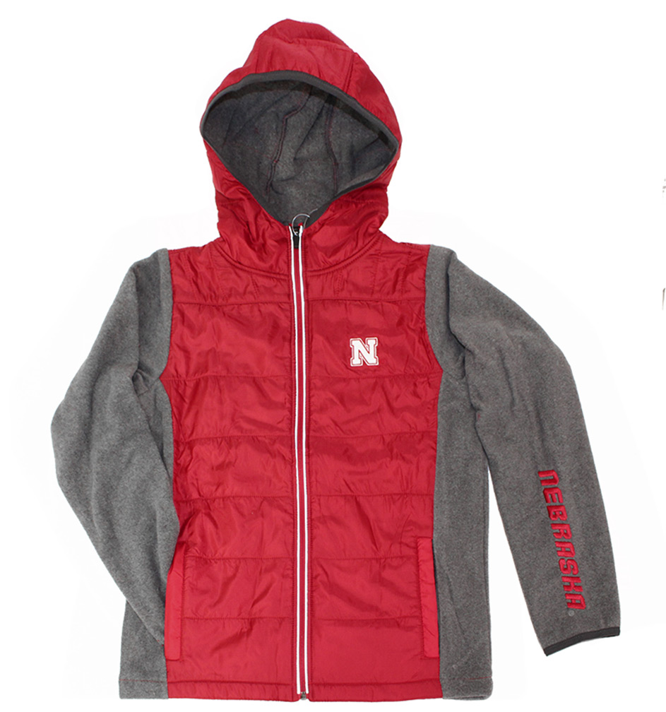 acb24c355 Huskers Youth Puffer Jacket