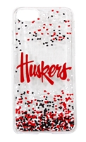Huskers iPhone 6 , 7 and 8 Confetti Clear Slim Case Nebraska Cornhuskers, Nebraska  Novelty, Huskers  Novelty, Nebraska  Mens Accessories, Huskers  Mens Accessories, Nebraska  Ladies Accessories, Huskers  Ladies Accessories, Nebraska  Mens, Huskers  Mens, Nebraska  Ladies, Huskers  Ladies, Nebraska Huskers iPhone 6 , 7 and 8 Confetti Clear Slim Case, Huskers Nebraska Huskers iPhone 6 , 7 and 8 Confetti Clear Slim Case