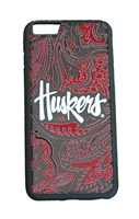 Huskers iPhone 6+ Paisley Bumper Case Nebraska Cornhuskers, Nebraska  Novelty, Huskers  Novelty, Nebraska  Mens Accessories, Huskers  Mens Accessories, Nebraska  Ladies Accessories, Huskers  Ladies Accessories, Nebraska  Mens, Huskers  Mens, Nebraska  Ladies, Huskers  Ladies, Nebraska Huskers iPhone 6+ Paisley Bumper Case Huskers Nebraska Huskers iPhone 6+ Paisley Bumper Case