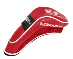 Nebraska Golf Hybrid Head Cover Nebraska Cornhuskers, husker football, nebraska cornhuskers merchandise, husker merchandise, nebraska merchandise, nebraska cornhuskers golf accessories, husker golf accessories, nebraska golf accessories, nebraska golf merchandise, husker golf merchandise, nebraska cornhuskers golf merchandise, Hybrid Head Cover