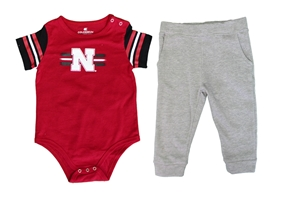 Infant Captain Football Huskers Onesie Nebraska Cornhuskers, Nebraska  Infant, Huskers  Infant, Nebraska Infant Captain Football Huskers Onesie, Huskers Infant Captain Football Huskers Onesie