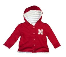 Infant Girls Lil Red Reversible Jacket Nebraska Cornhuskers, Nebraska  Infant, Huskers  Infant, Nebraska  Kids, Huskers  Kids, Nebraska Infant Girls Lil Red Reversible Jacket, Huskers Infant Girls Lil Red Reversible Jacket