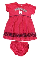 Infant Nebraska Fancy Gal Dress Set Nebraska Cornhuskers, Nebraska  Infant, Huskers  Infant, Nebraska Infant Nebraska Plucky Dress Set, Huskers Infant Nebraska Plucky Dress Set