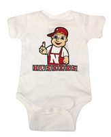 Infants Lil Red Onesie Nebraska Cornhuskers, Nebraska  Infant, Huskers  Infant, Nebraska Infants Lil Red Onesie, Huskers Infants Lil Red Onesie