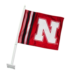 Iron N Car Rally Flag  Nebraska Cornhuskers, husker football, nebraska cornhuskers merchandise, husker merchandise, nebraska merchandise, nebraska cornhuskers vehicle items, husker car stuff, nebraska vehicle items, husker vehicle items, husker auto accessories, nebraska cornhuskers auto accessories, nebraska car accessories, husker car accessories, nebraska cornhuskers car accessories, nebraska cornhuskers truck accessories, husker truck accessories, nebraska truck accessories, IRON N CAR FLAG