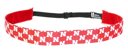 Its N All Over Stretch Headband Nebraska Cornhuskers, Nebraska  Ladies, Huskers  Ladies, Nebraska  Ladies Accessories, Huskers  Ladies Accessories, Nebraska  Jewelry & Hair, Huskers  Jewelry & Hair, Nebraska Red N logo No Slip Headband, Huskers Red N logo No Slip Headband