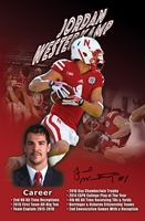 Jordan Westerkamp Autographed Career Print Nebraska Cornhuskers, Nebraska  Former Players, Huskers  Former Players, Nebraska  Photos Prints & Posters, Huskers  Photos Prints & Posters, Nebraska  Prints & Posters, Huskers  Prints & Posters, Nebraska Westerkamp Autographed Career Print, Huskers Westerkamp Autographed Career Print