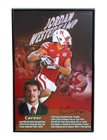 Jordan Westerkamp Autographed Framed Career Print  Nebraska Cornhuskers, Nebraska  Former Players, Huskers  Former Players, Nebraska  Photos Prints & Posters, Huskers  Photos Prints & Posters, Nebraska  Prints & Posters, Huskers  Prints & Posters, Nebraska Westerkamp Autographed Career Print, Huskers Westerkamp Autographed Career Print