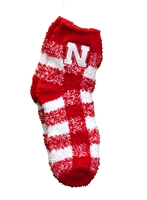 Ladies Buffalo Check Fuzzy Sock Nebraska Cornhuskers, Nebraska  Ladies Accessories, Huskers  Ladies Accessories, Nebraska  Ladies, Huskers  Ladies, Nebraska  Ladies Underwear & PJs, Huskers  Ladies Underwear & PJs, Nebraska Ladies Buffalo Check Fuzzy Sock, Huskers Ladies Buffalo Check Fuzzy Sock